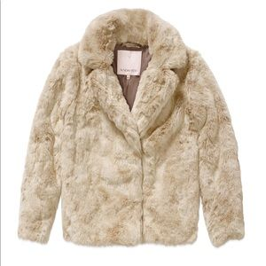 Aritzia Faux Fur Coat from Sunday Best, Size M